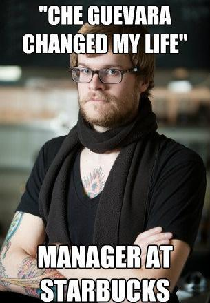 hipster-barista-che-guevera